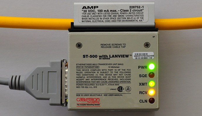 Building A 10base5 Quot Thick Ethernet Quot Network